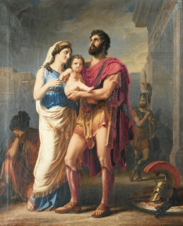 Karl_Friedrich_Deckler,_The_Farewell_of_Hector_to_Andromaque_and_Astyanax
