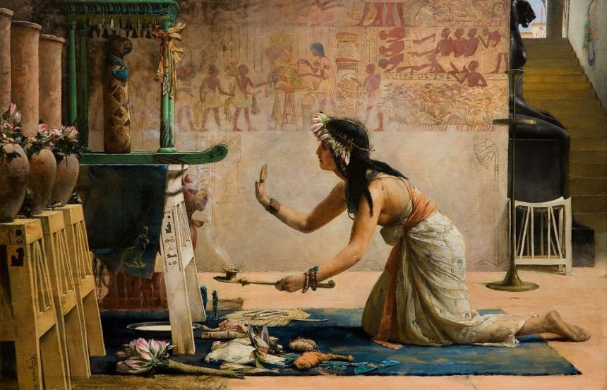 john_reinhard_weguelin_–_the_obsequies_of_an_egyptian_cat_(1886)
